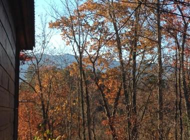 View From Cherokee Charm Cabin at Elk Springs Resort